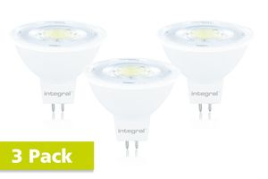 MR16 GU5.3 8.3W (51W) 4000K 700lm Gradable - PACK DE 3 INTEGRAL LED - à Vaux Le Penil 77