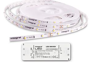 Bandes de LED IP33 3000K INTEGRAL LED - à Vaux Le Penil 77